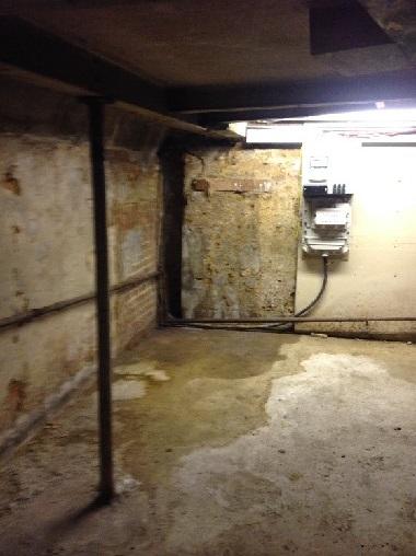 Damp in basement