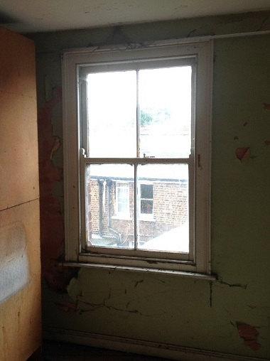 Window with rot