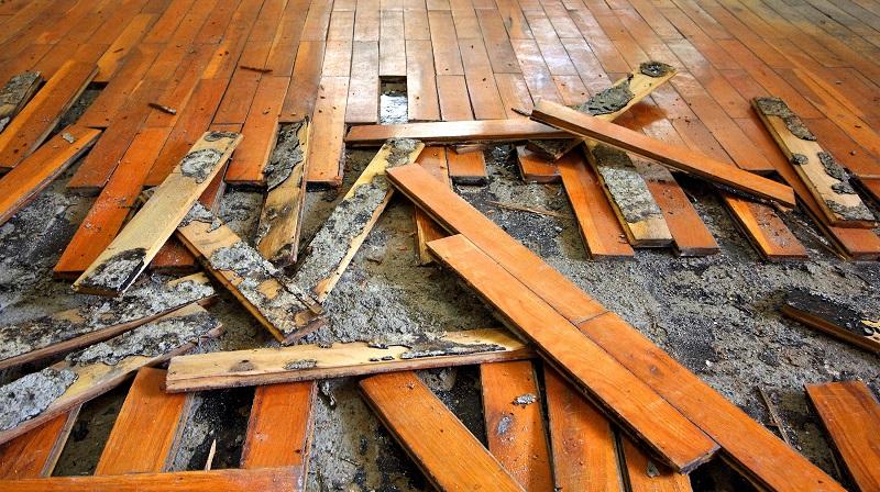 Broken Parquets for reconstruction.